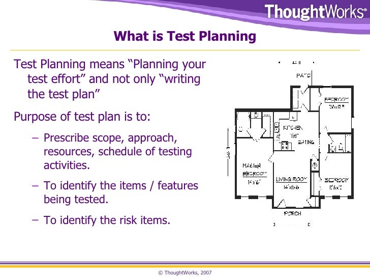 Sample Test Plan