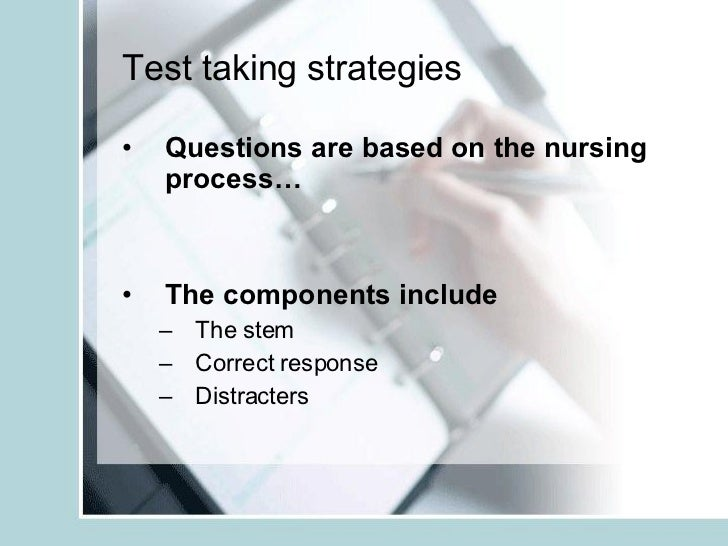 Test-Taking Tips and Strategies for Nursing School or College
