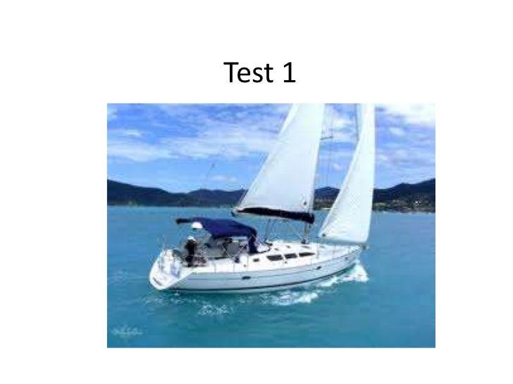 Test 1<br />