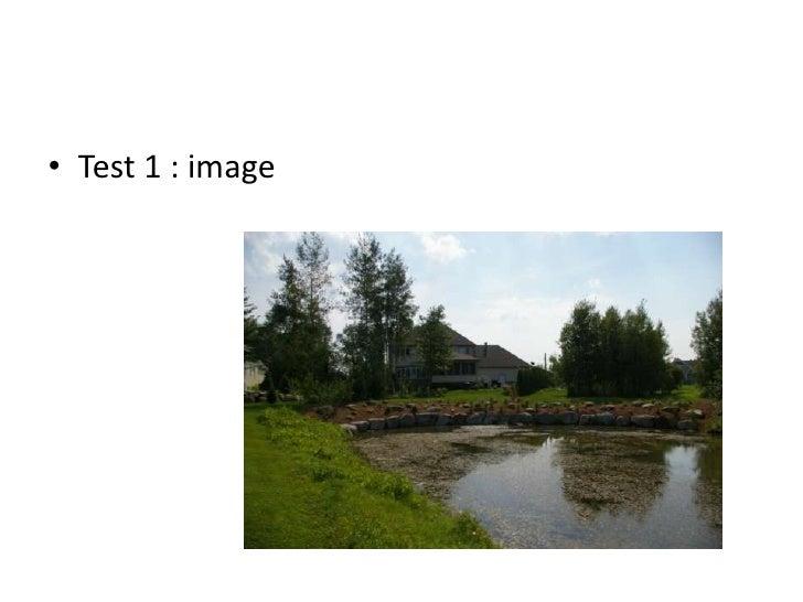 Test 1 : image <br />