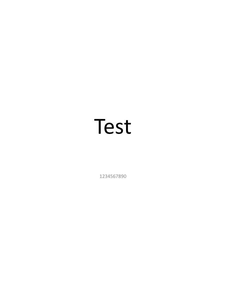 Test 1234567890
