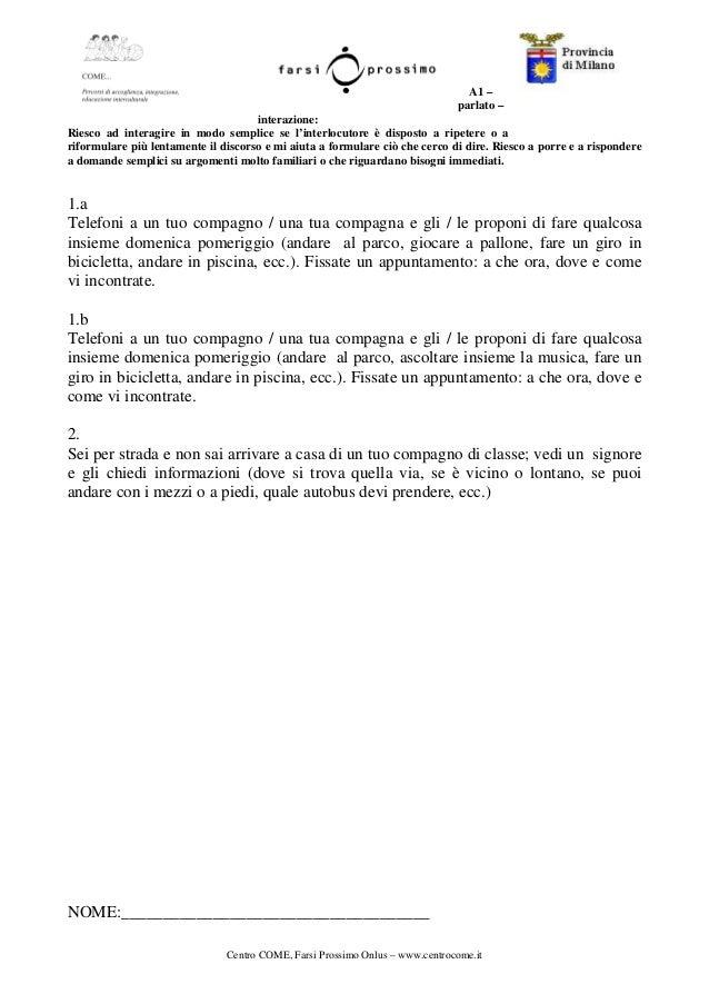 Awesome Risultati Test Italiano Per Carta Di Soggiorno Photos - Casa ...