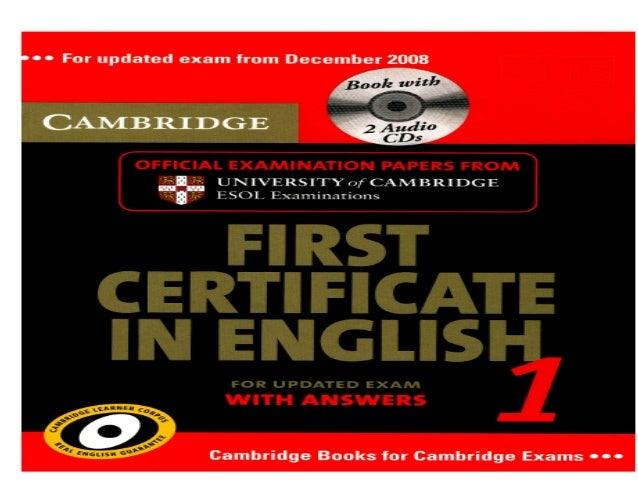 Khấu Vĩnh Công Cambridge First Certificate in English 1-2008 Transcript Test 4 khauvinhcong@gmail.com 2