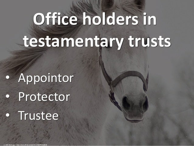 how to create a testamentary trust