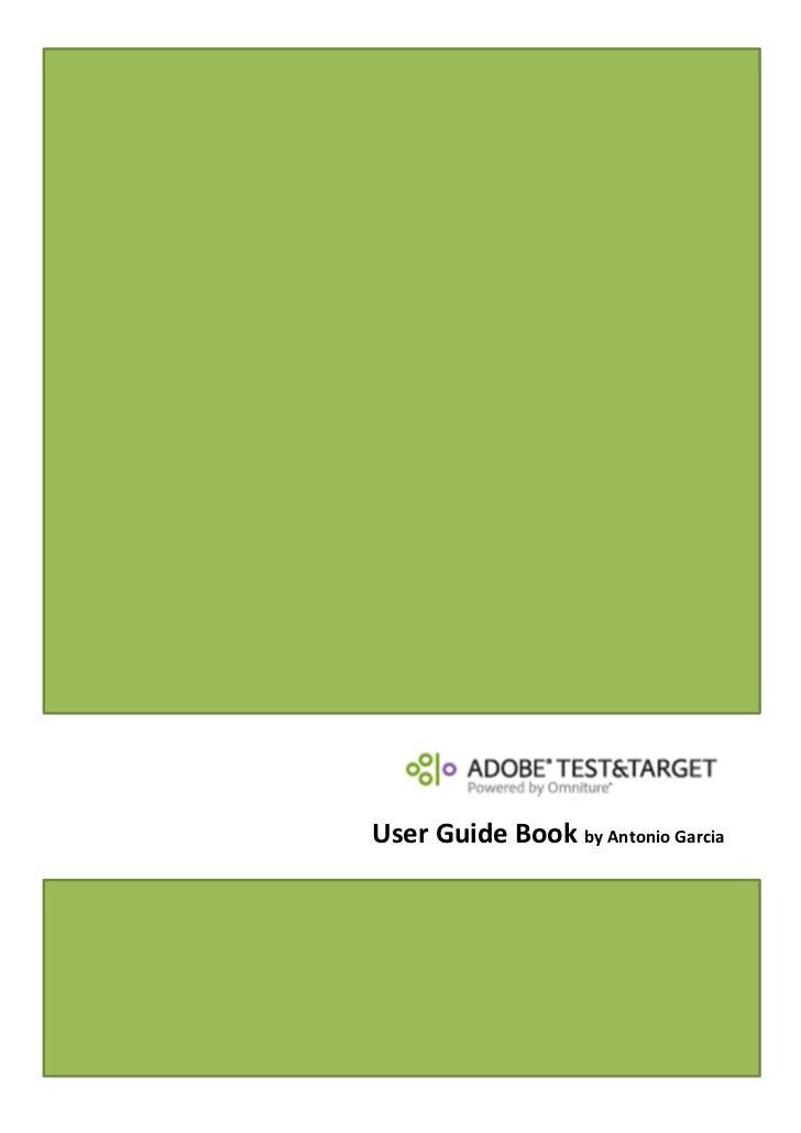 User Guide Book by Antonio Garcia