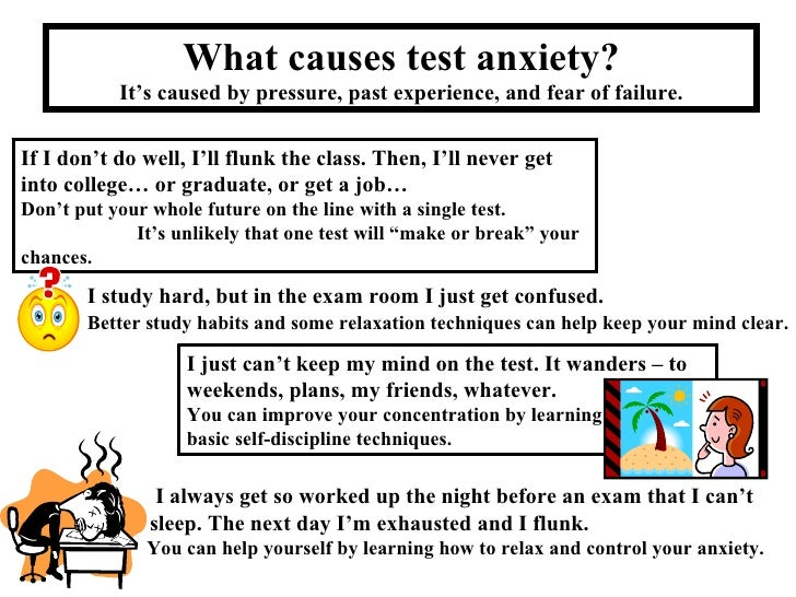 how to get diagnosed with test anxiety