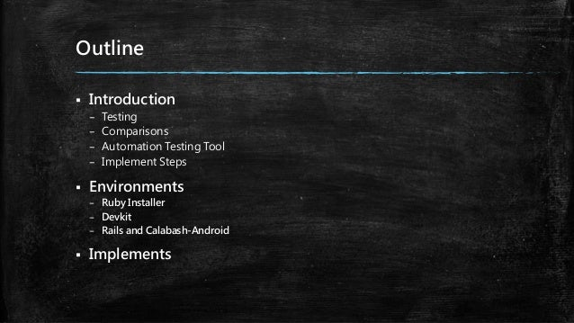Test automation Slide 2