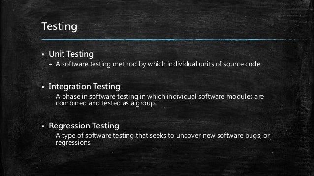 Test automation Slide 3