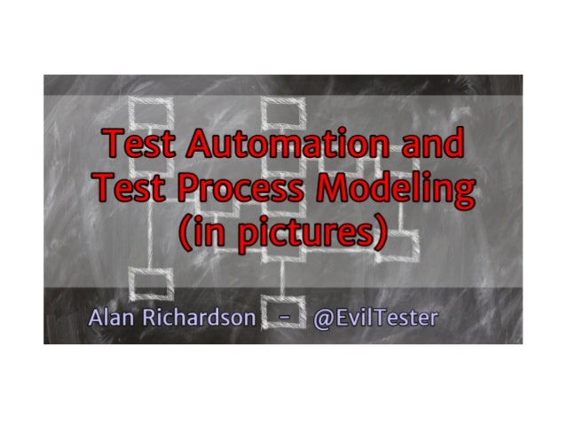 Why do we talk about Test Automation the way we do? Why do we talk about 100% Test Automation? How do we model automation ...