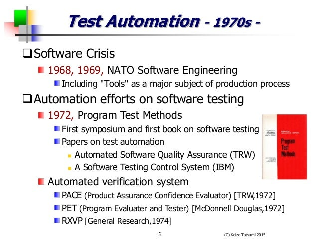 Past present and future of automate