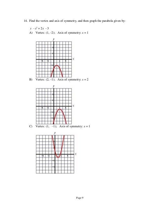 Test bank for intermediate algebra everyday explorations