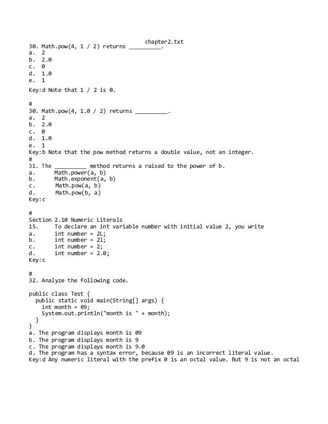 Test bank for introduction to java programming comprehensive