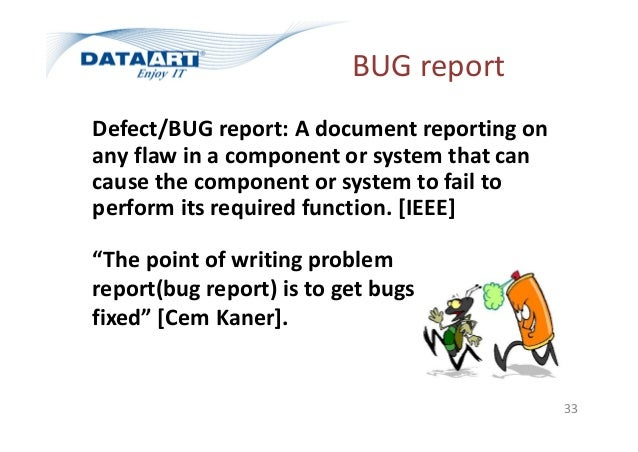 Test Cases And Bug Report V