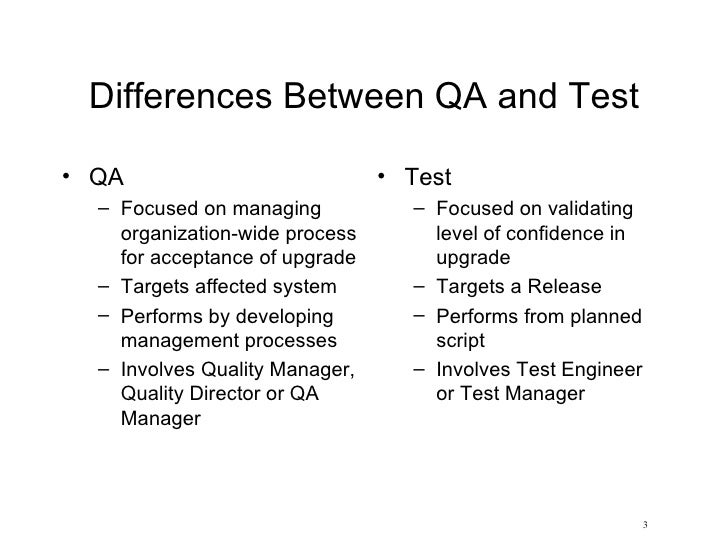 Software test management overview for managers Slide 3