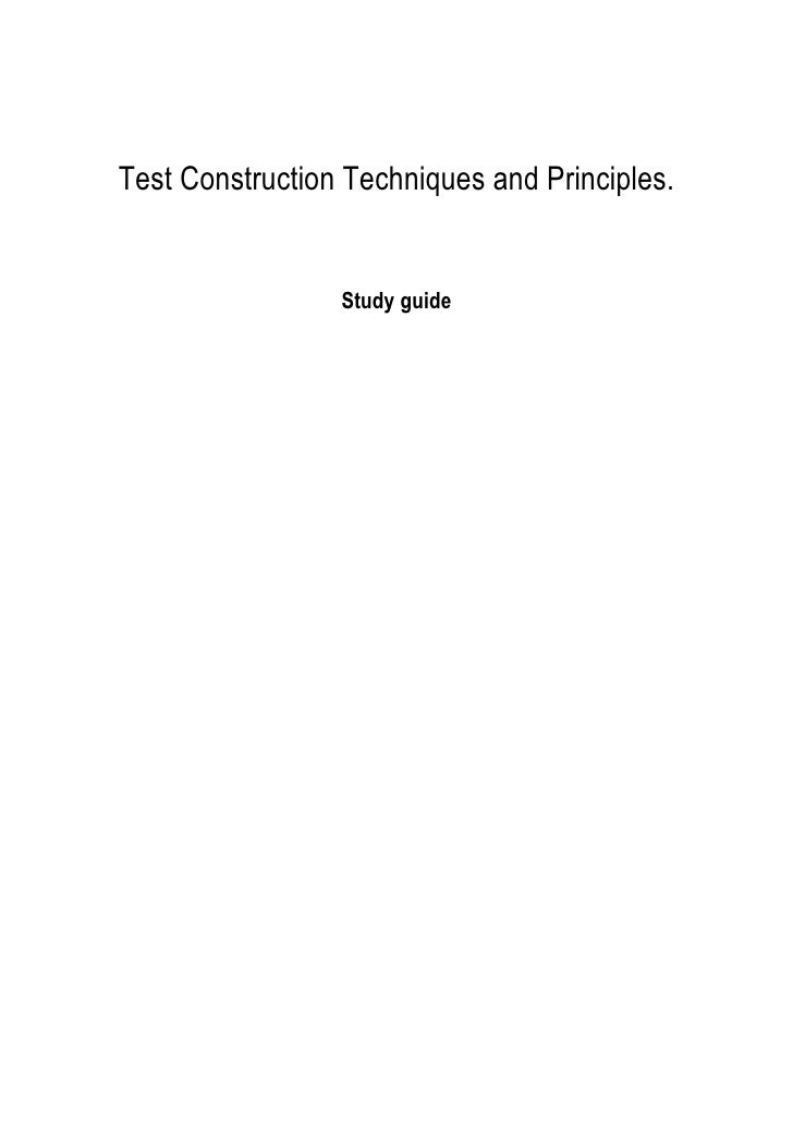 principles construct essay test Get help with getting started on your college essay big future logo get started  here you are asked to write about your views on a topic.