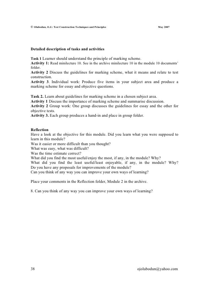 principles construct essay test Clep college composition contains multiple-choice items and two mandatory, centrally-scored essays that test skills of argumentation, analysis, and synthesis.