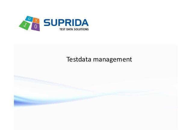 Testdata  management   Klik  om  de  s+jl  te  bewerken   Klik  om  de  onder+tels+jl  van  het...