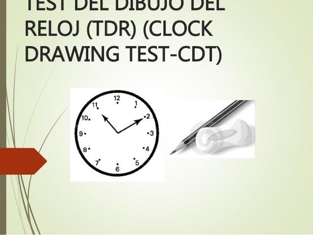 Test Del Dibujo Del Reloj Neurociencias Iii Psicología