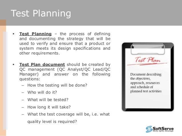 Test design Slide 2