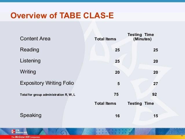 100 Tabe Test 9 10 Answers Yasminroohi