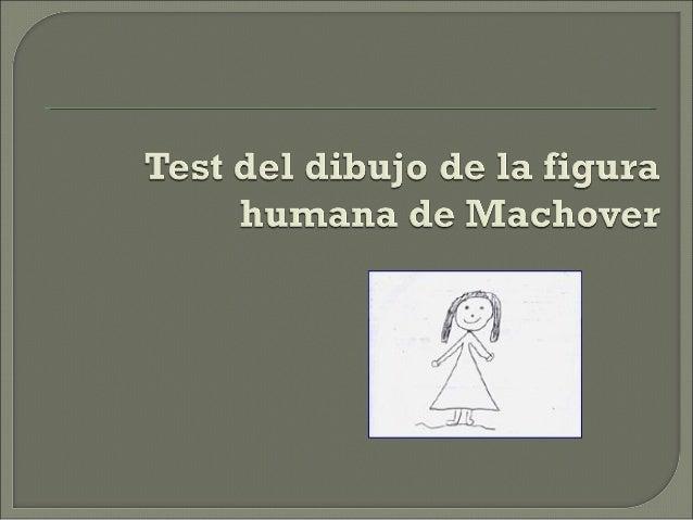Test de wartegg y figura humana de karen machover