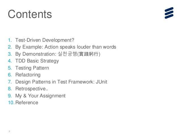 Test Driven Development (TDD) basic Slide 2