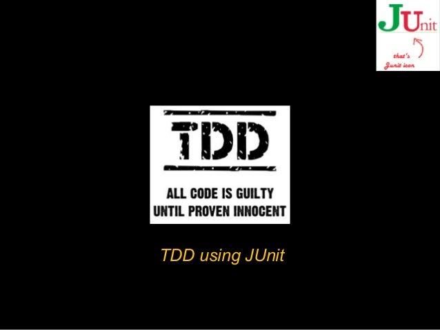 Test driven development using Junit and MockIto