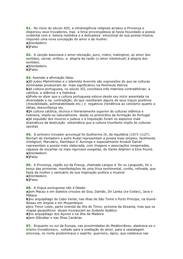 01. No inicio do século XIII, a intransigência religiosa arrasou a Provença e dispersou seus trovadores, mas a lírica prov...