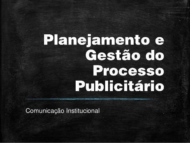 [Estácio] Trabalho de Comunicação Institucional Slide 3