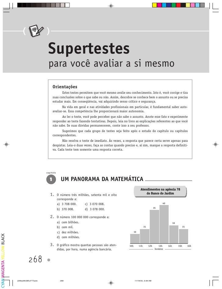 (    S           )             Supertestes            para você avaliar a si mesmo                 Orientações            ...