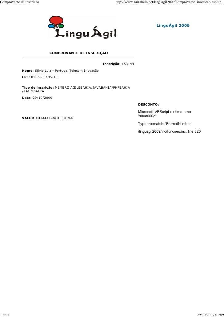 Comprovante de inscrição                                            http://www.rairabelo.net/linguagil2009/comprovante_ins...