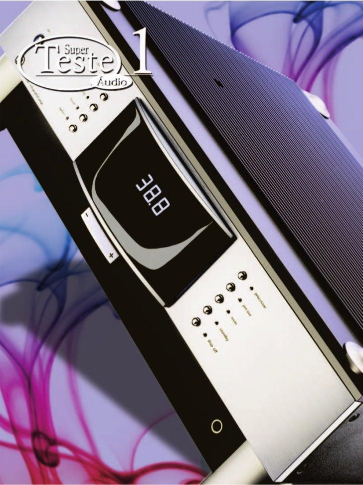 Teste 1 Áudio – Amplificador Integrado MBL 7008 58   dezembro/2007