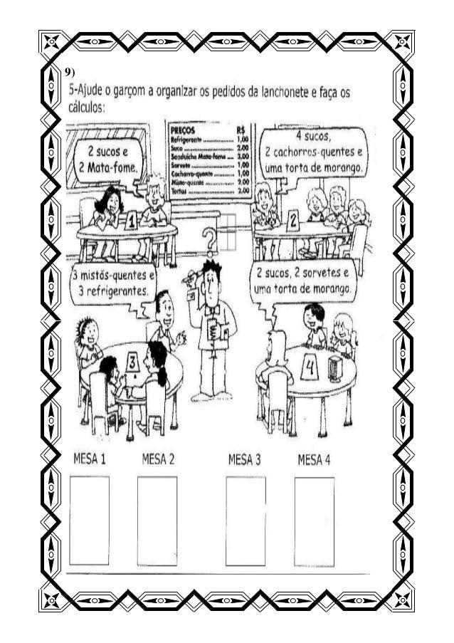 Teste avaliativo de matemática