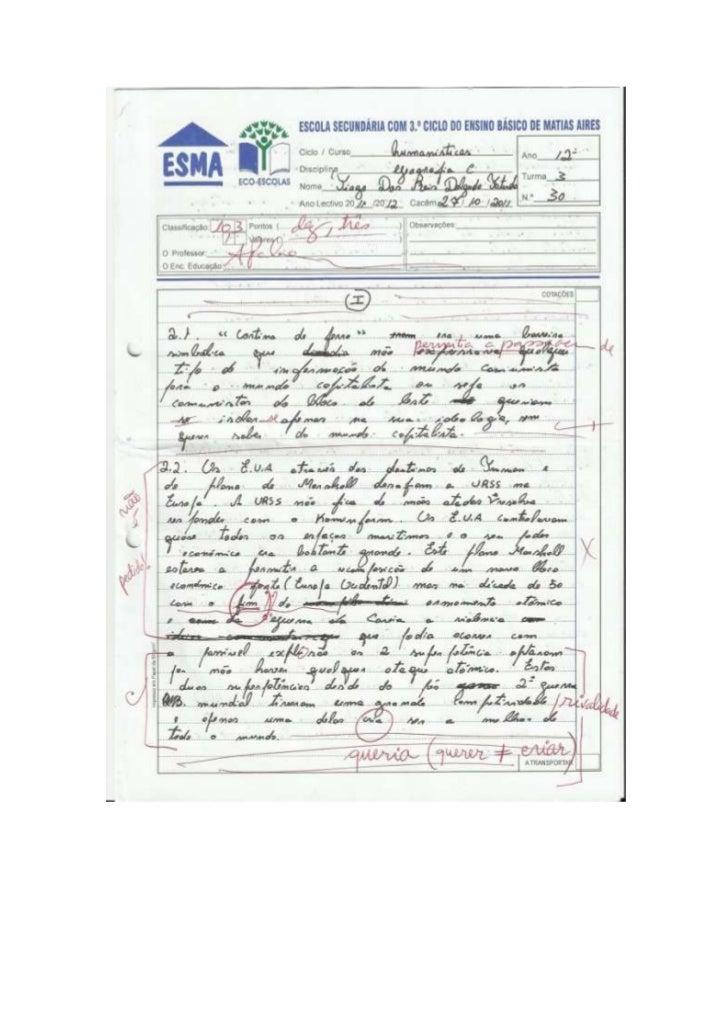 Teste de avaliação de geo c (tiago)