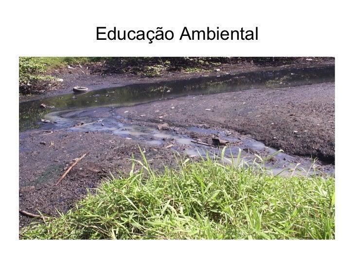 <ul>Educação Ambiental </ul>