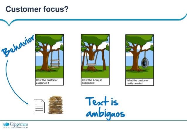 Customer focus?