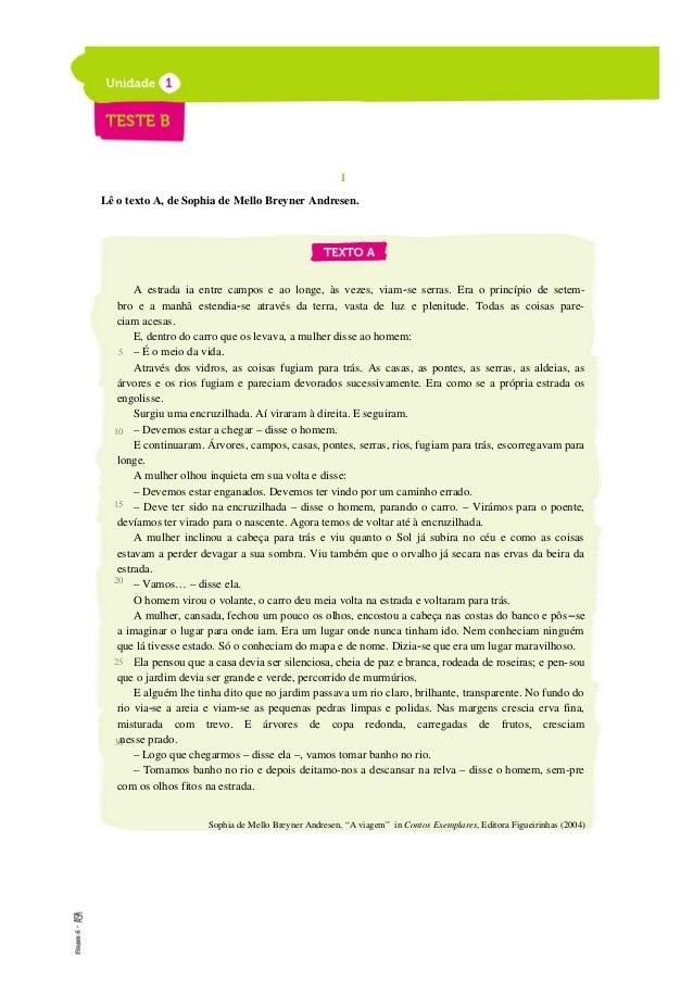 ETAPAS 6 Livro de testes 5. Classifica como Verdadeiras (V) ou Falsas (F)as frases de a)a g), de acordo com as informações...