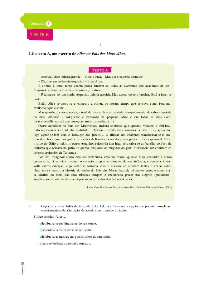 ETAPAS 6 Livro de testes Responde, agora, ao que te é pedido sobre a gramática. 8. Atenta na frase: A adolescência pode se...