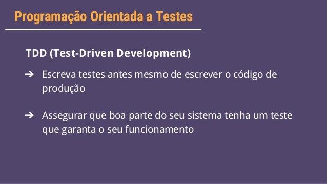 Testes com xUnit + Coding Dojo Slide 15