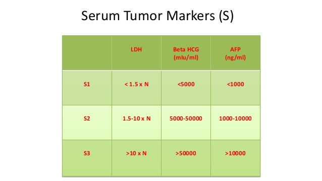 What are alpha-fetoprotein tumor markers?