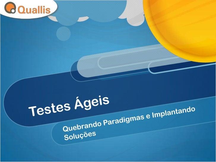 O que é Quallis? Quallis é a nova marca da Deamon Consulting