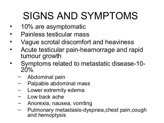 Primary Testicular Tumors 26
