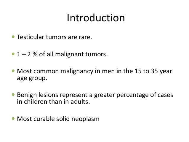 Testicular tumours Slide 2