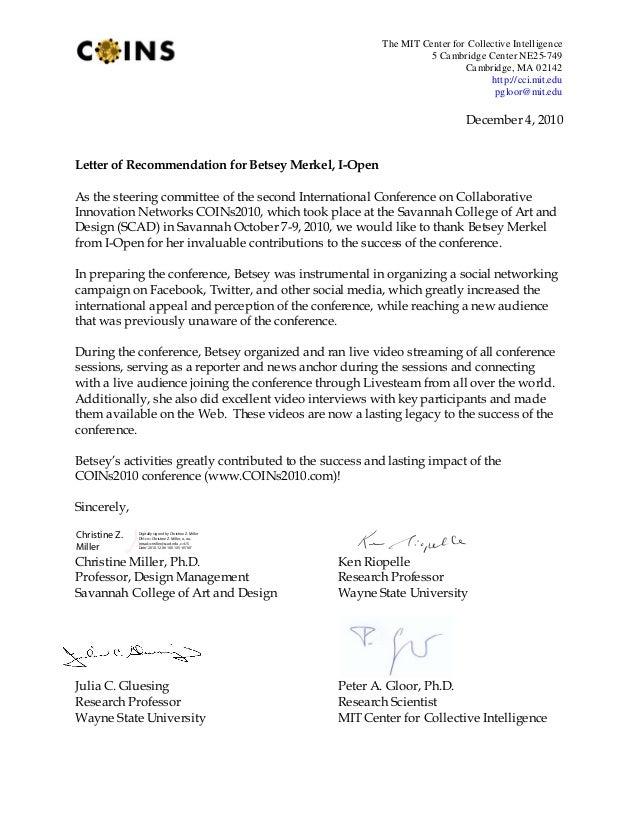 The MIT Center for Collective Intelligence 5 Cambridge Center NE25-749 Cambridge, MA 02142 http://cci.mit.edu pgloor@mit.e...