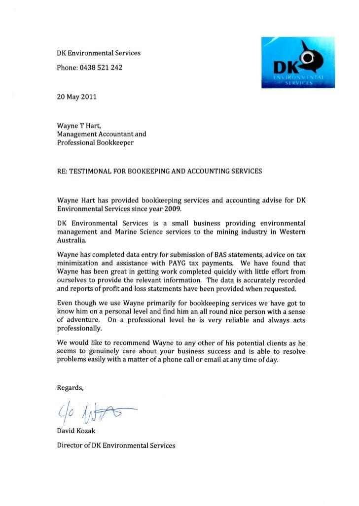 Testimonial from DK Environmental Services