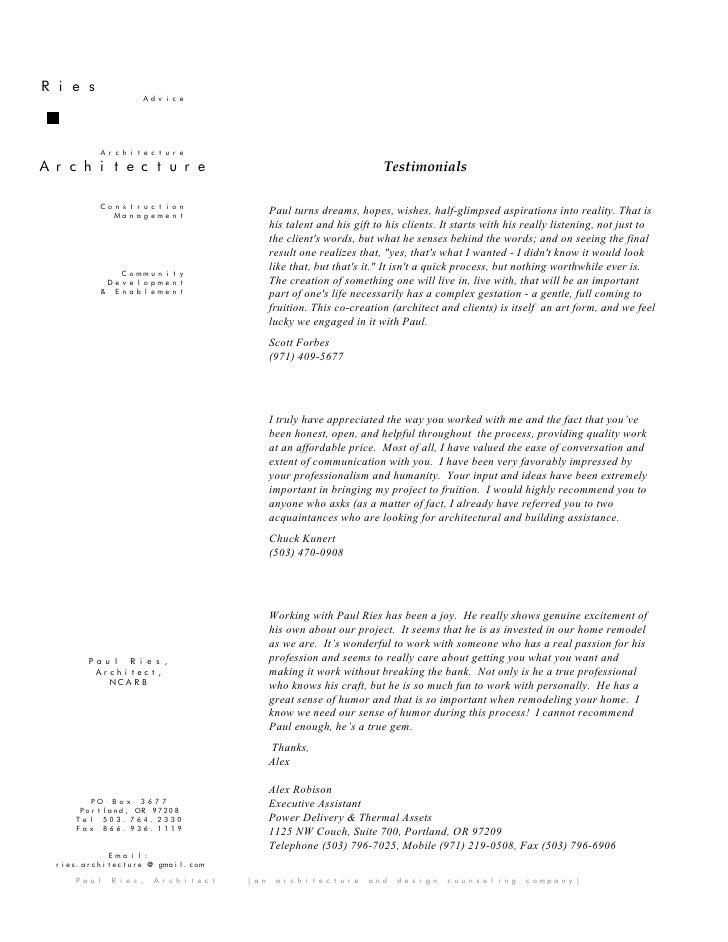 Ries                  Advice              Architecture  Architecture                                                     T...