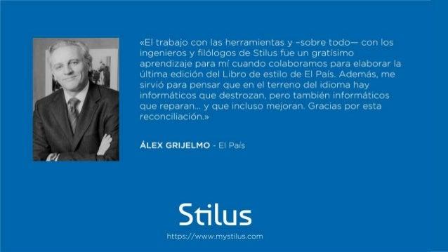 Los testimonios de Stilus