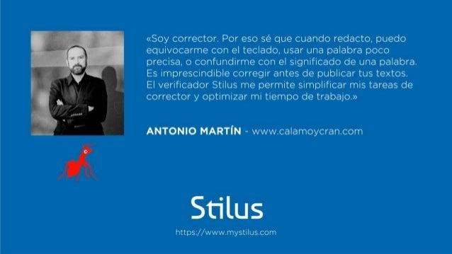 Los testimonios de Stilus Slide 2