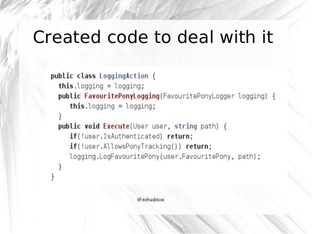 Created code to deal with it  @robashton