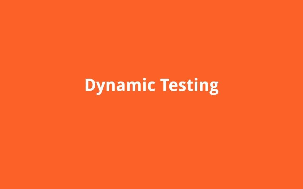 dynamic experimentation